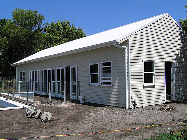 Stud frame sheds brisbane affordable sheds southside for Affordable barns and garages